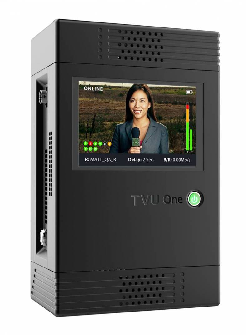 The package includes the TVOne mobile transmitter.