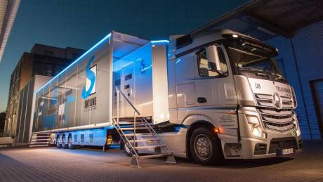 From Expando trailers to PTZs with off-site control rooms, 2019 promises to bring new live OB opportunities. Photo: TV Skyline GmbH.