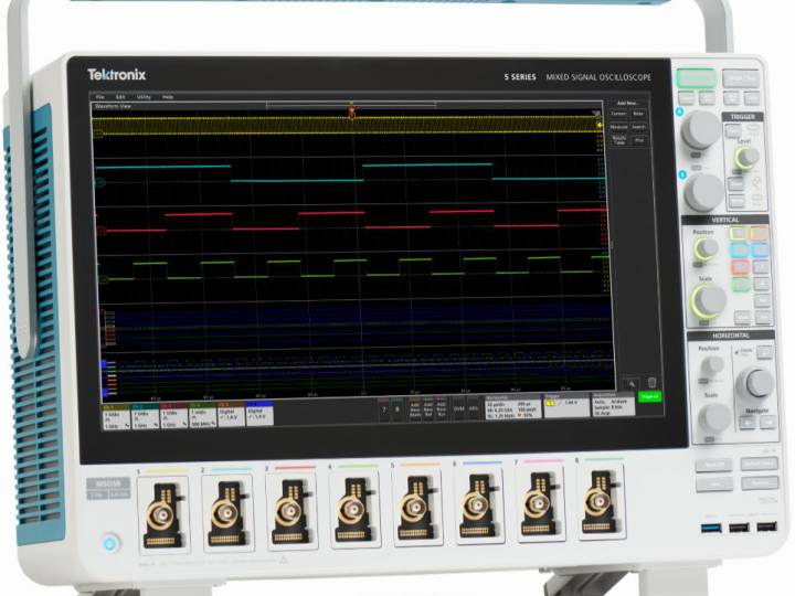 Tektronix 5 Series MSO is ready to measure and troubleshoot today's most difficult engineering challenges.