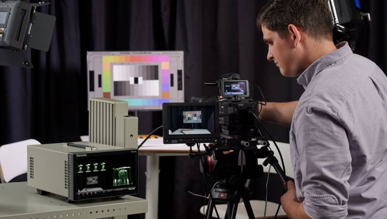Tektronix's PRISM upgrade allows DPs and operators to setup cameras for live HDR.