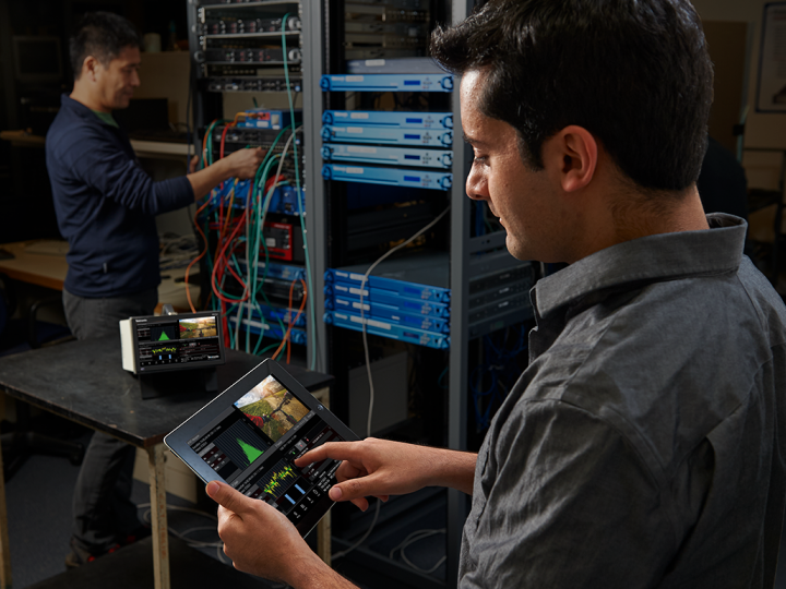 A key advantage of IP networks is that engineers can troubleshoot much of the systems and equipment remotely.