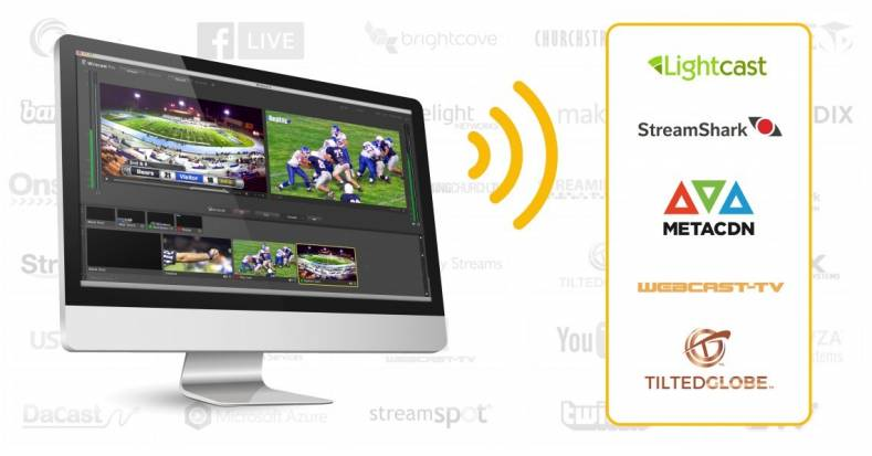 Wirecast offers production capability and streaming for a broad diversity of events.