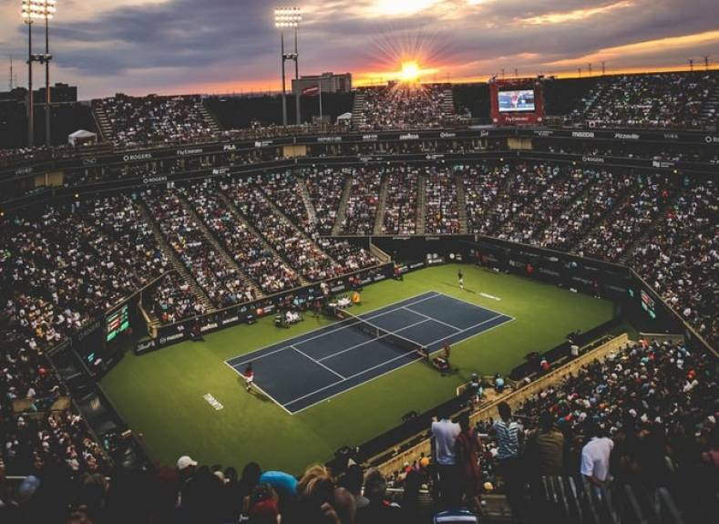 Tennis is one sport pushing OTT distribution hard to expand revenues. Photo by Filip Mroz on Unsplash.