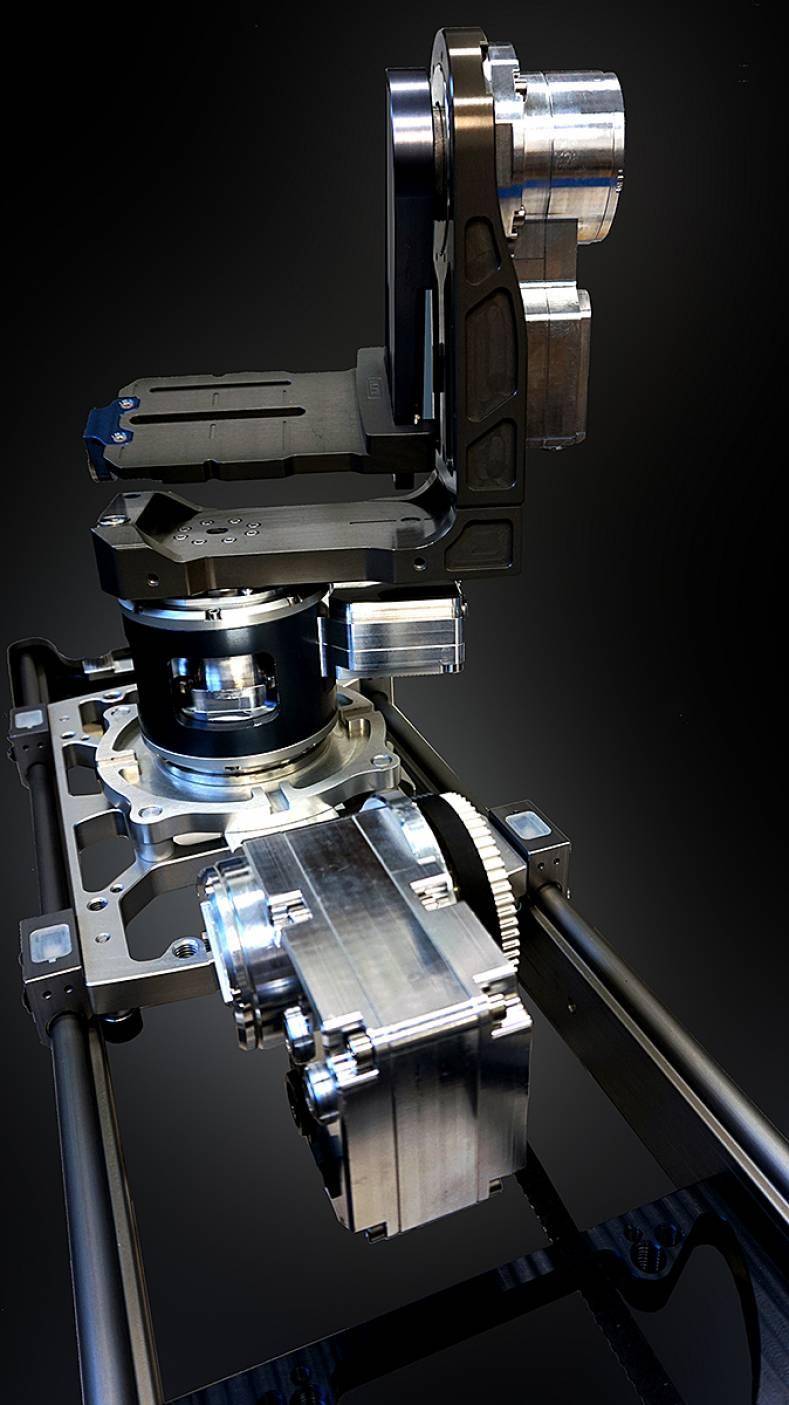 Kfx technology and myt works to debut velvet remote head for Tilting motor works dealers