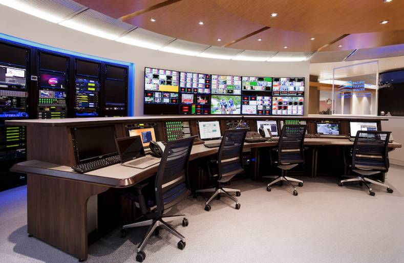 The main control room at The Switch's London facility can manage REMI productions across the globe.