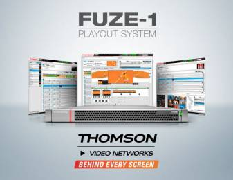 Thomson Video Networks FUZE-1 will take the Channel-in-a-Box concept to the next level.