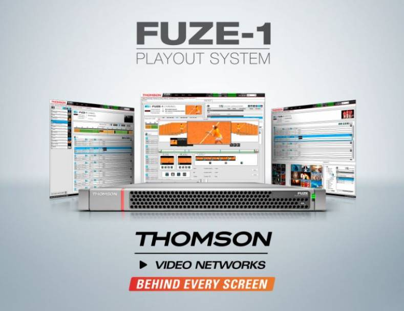 Thomson To Unveil Channel-in-a-Box Solution At NAB - The Broadcast