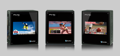 P3Play Mini is a portable sports production system from NewTek