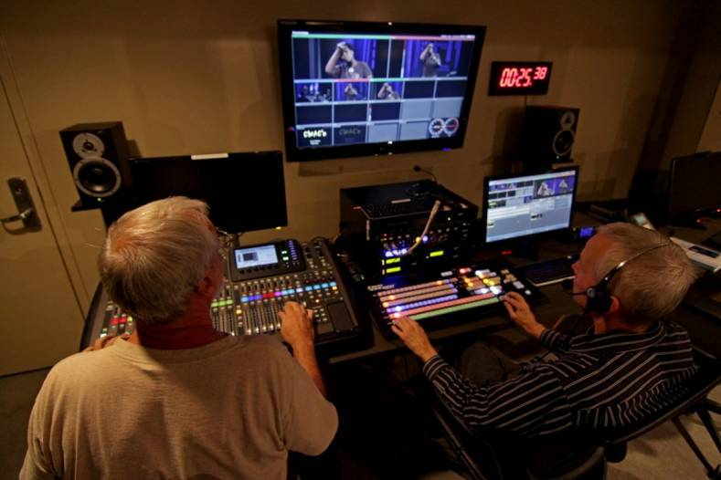For a small annual fee, Fresno and Clovis citizens can learn and use CMAC's TV studio, production and editing gear.