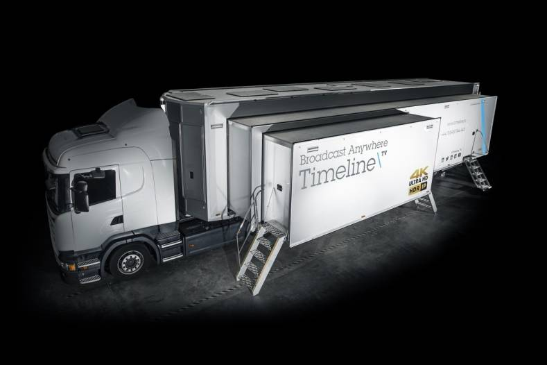 Timeline's new mobile unit uses TR03 for elementary essence stream support.
