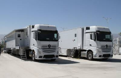 Broadcast Solutions has helped deliver 16 trucks over two years for Turkmenistan TV's news and content gathering activities.