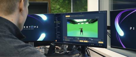 One user interface provides tracking, green screen, compositing and AR