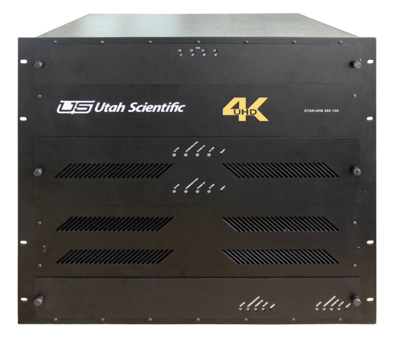 The UHD-12G is an enterprise-class router that enables distribution of a full range of SDI video signals.