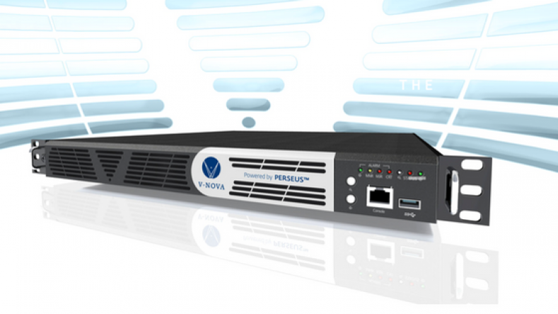 V-Nova's latest P-Link contribution encoder and decoder is based on its Perseus codec technology.