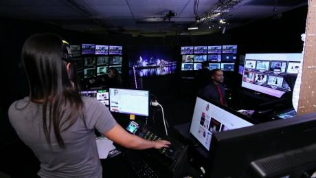 Inside the Video Call Center producers help ensure reliable connectivity for a multitude of TV shows.