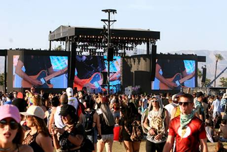 NEP tested its new IP-based wireless transmission camera system at the recent Coachella Music Festival in the Colorado Desert.