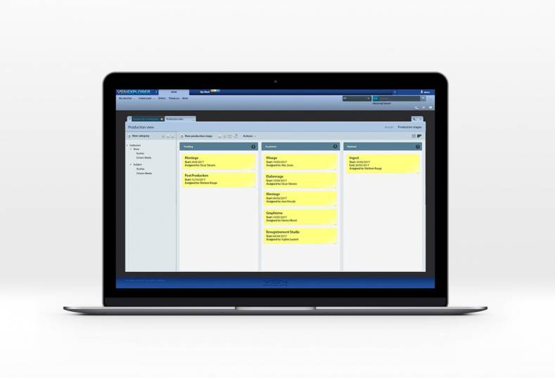 VSN's PAM is an advanced production asset management tool that is integrated with the company's VSNExplorer.