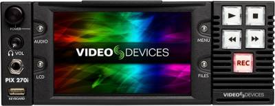 Video Devices PIX 270i video recorder.