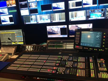 Each of four new control rooms will be equipped with a SAM Kahuna 9600 multiformat production switcher.