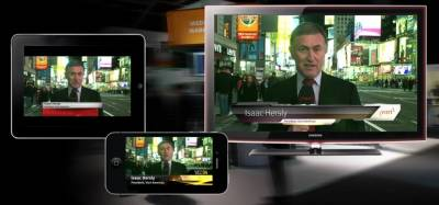 Vizrt Feed Streamer supports weather graphics in addition to a wide range of social media features.