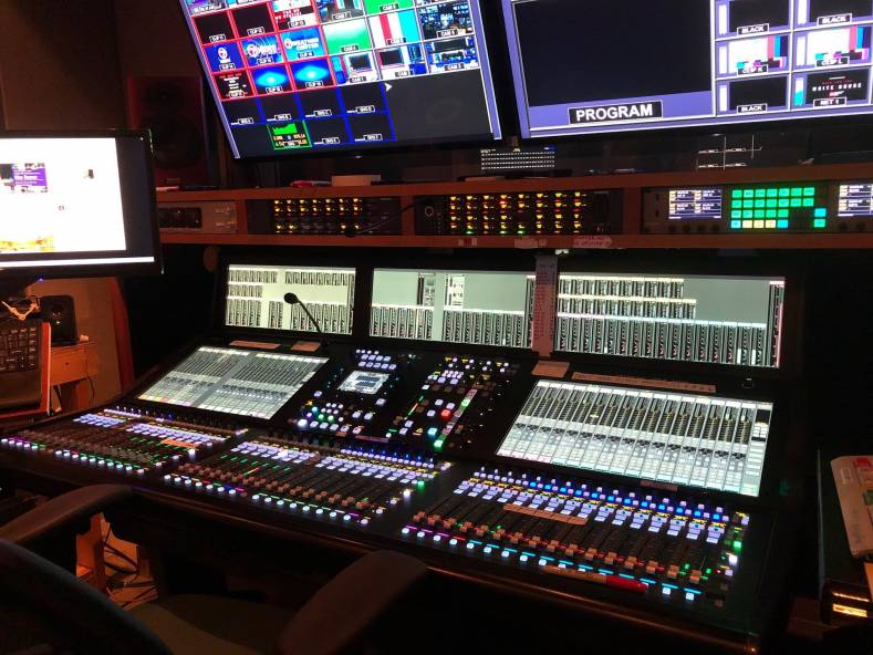 The new System T audio mixing console has replaced an existing SSL C100 console that had been in operation for 14 years.