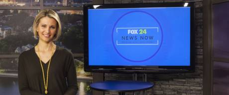 "The new 11pm ""FOX 24 News Now"" is the latest newscast to be automatically live-captioned at WTAT-TV."