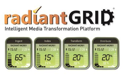 RadiantGrid technology uses TrueGrid file-based processing to accelerate the performance of simultaneous tasks across multiple machines.