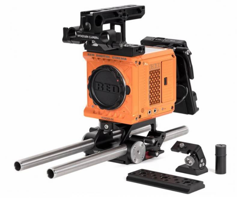 Wooden Camera Accessory Kit Pro (Gold-Mount) for RED KOMODO.