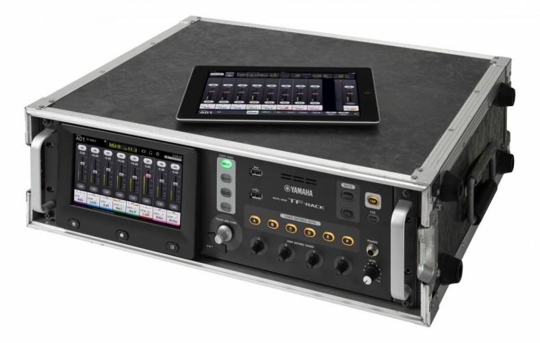 The new Yamaha TF-Rack offers the same levels of performance and operability found on TF series mixers in a space saving rack mount design.
