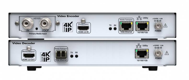 Setup and configuration of the new ZyPer4K encoder and decoder is simple.