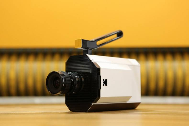 Returning to its roots, Kodak introduces a new Super 8 film camera at CES.