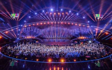 The production team of the 2018 ESC on stage at the Altice Arena. Click to enlarge. Image: Ralph Larmann