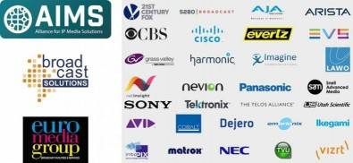 The AIMS initiative now boasts more than 100 members and mainly focuses on live uncompressed video transmissions over IP.