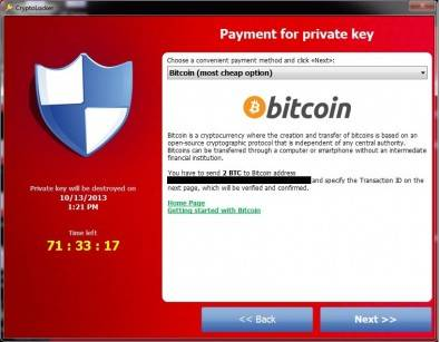 CryptoLocker is a ransomware trojan that targets computers running Microsoft Windows. Experts believe it was first posted to the Internet on September 5, 2013.