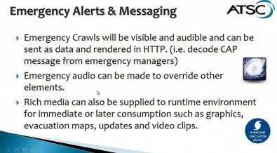 Emergency alerts and messaging technologies are completely different than anything used before, analog or digital. Click to enlarge.
