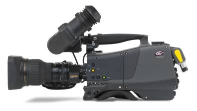 The Grass Valley LDX 86N Universe is a single camera that can switch between multiple resolution and speed formats.