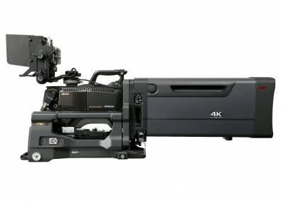 "The Hitachi SK-UHD4000 Ultra HD studio/EFP camera offers support for standard B4-mount 2/3"" bayonet lenses and a new option for simultaneous HDR/SDR acquisition."