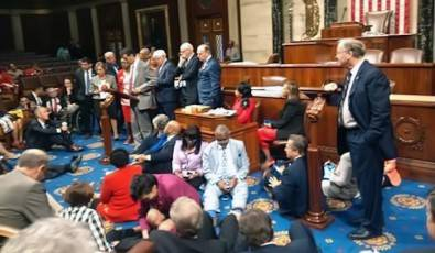 Sit-in on the floor of the U.S. House of Representatives