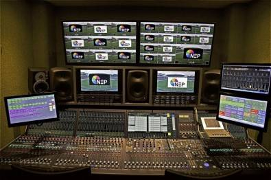 NEP Australia is building a set of new 4K  trucks, many of which will rely on newer IP-technologies. Some of the IP gear includes, Sony HDC-4300 cameras and ICP X7000 switcher panel, Lawo audio consoles and broadcast control and monitoring systems, 10 EVS XT3 production servers, and an IHSM Draco Tera KVM control system.