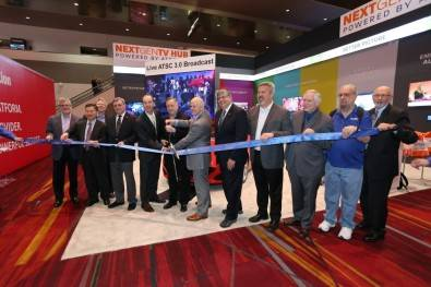NextGen TV Hub:  Powered by ATSC 3.0 ribbon cutting ceremony.
