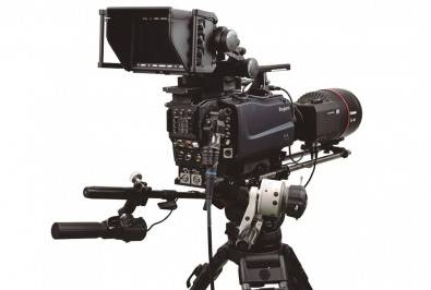 The Ikegami SHK-810 8K Super Hi-Vision Camera System.