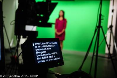 VRT studio uses IP connectivity to embrace the needs of live TV production.