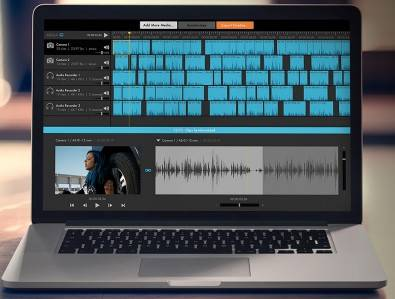 With a touch of a single button, PluralEyes 4.1 analyzes the audio from cameras and audio devices and syncs them up, in seconds. No clapboards or timecode are needed.