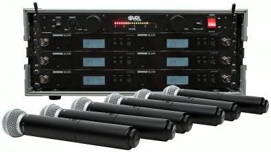 Shure BLX24R Wireless Mic Systems