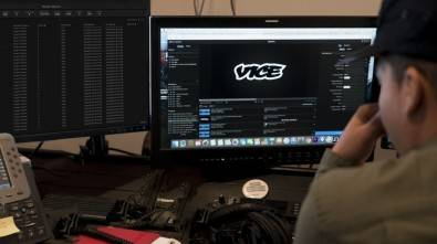 Collaborative editing and site-to-site media transfers became crucial to the production and on-air workflow at Vice News. VICE media ops-Xchange.