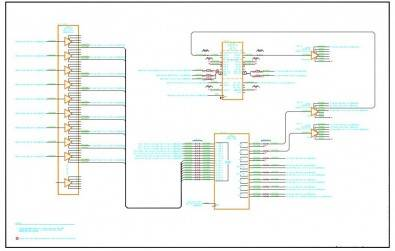 Traditional system block diagram. With today's IP system, such drawings provide little useful information.