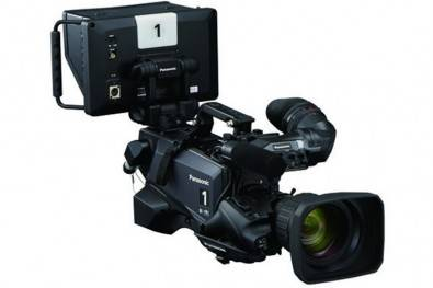 The Panasonic UC4000 utilizes built-in Large Single Sensor Internal Expansion Lens optics with Panasonic's new, larger, advanced super 35mm 4K imager.