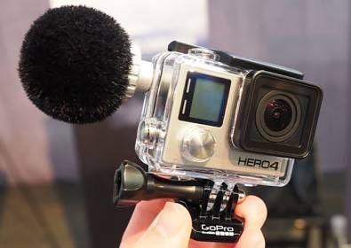 Sennheiser prototype microphone for GoPro