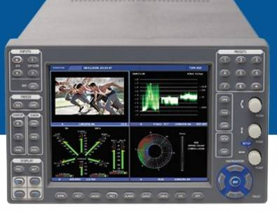 The Videotek TVM9150PKG multi-format video waveform monitor and audio signal analyzer is is targeted at 3G/HD/SD-SDI, analog composite and ASI video and audio applications.