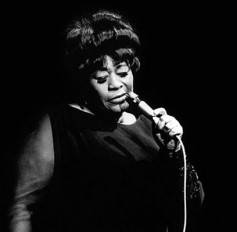 Ella Fitzgerald always knew how to hold the microphone.